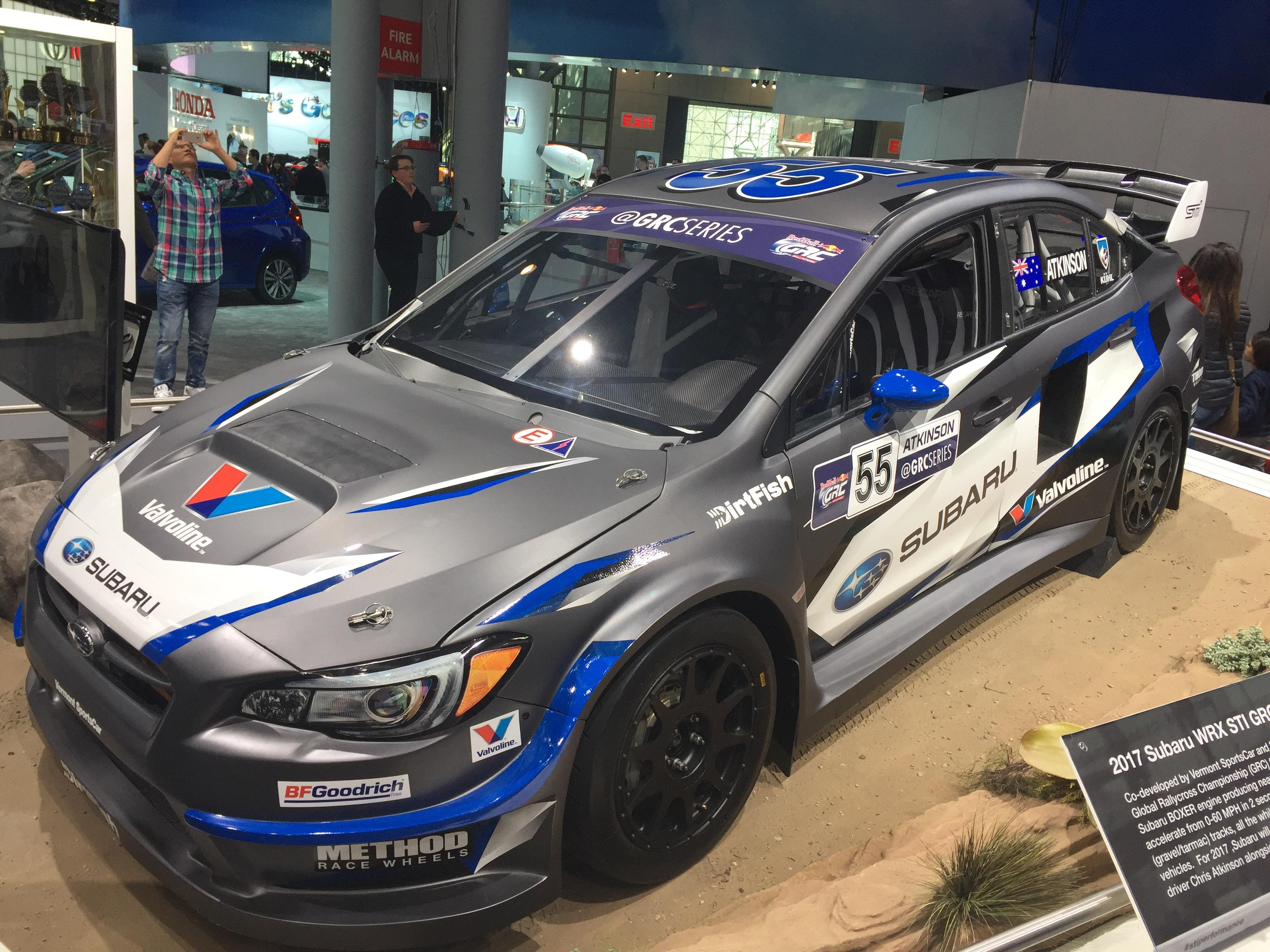 OC 2017 Subaru WRX STI Redbull Global Rallycross Car