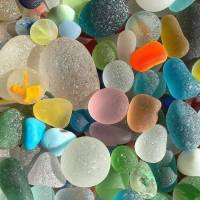 Beautiful and Colourful Sea Stones
