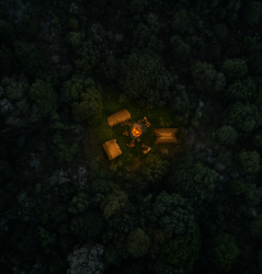 night forest camp map grid encounter dndmaps comment imgur