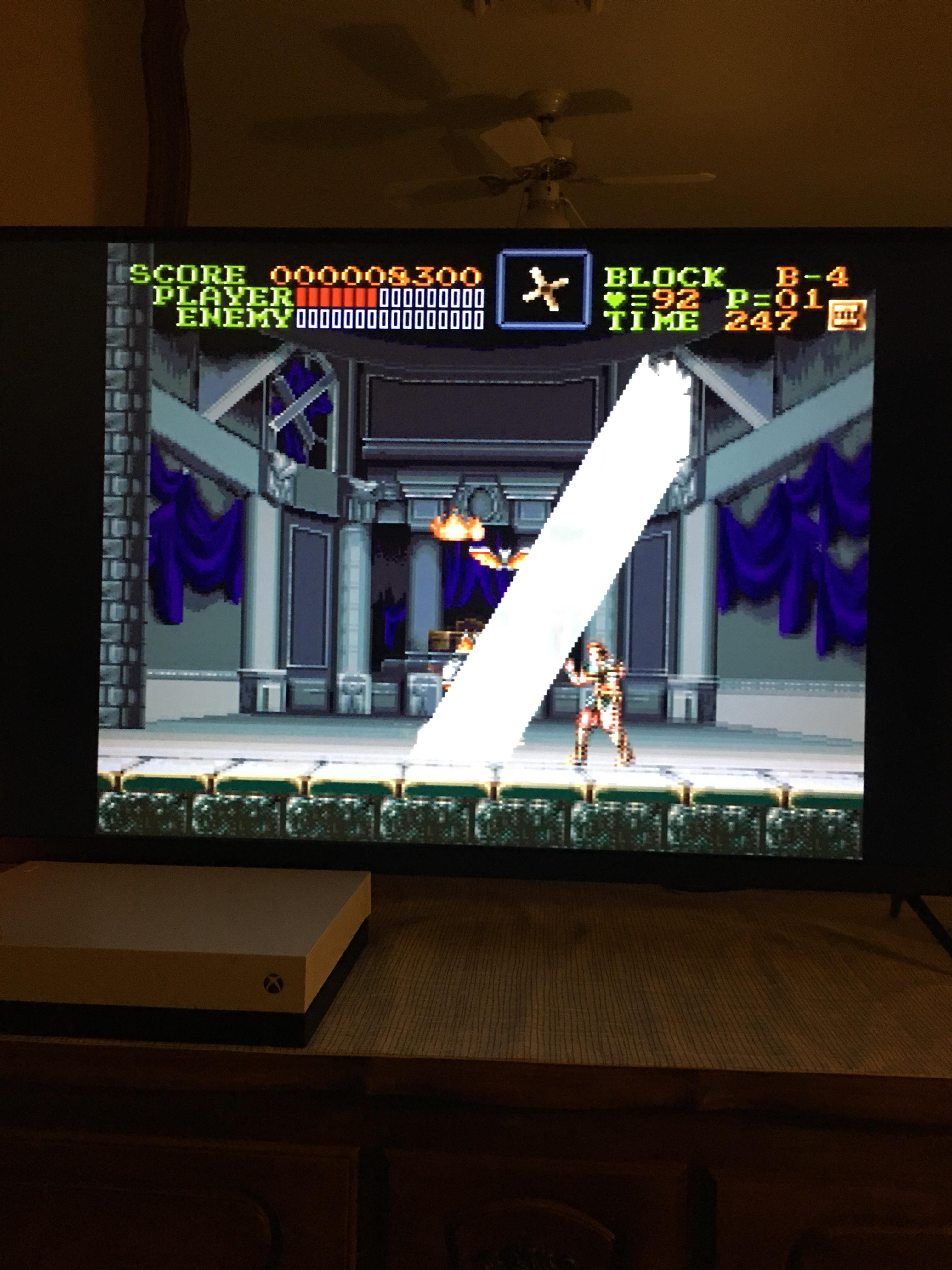 Castlevania Iv Dracula Sees The Light Snes