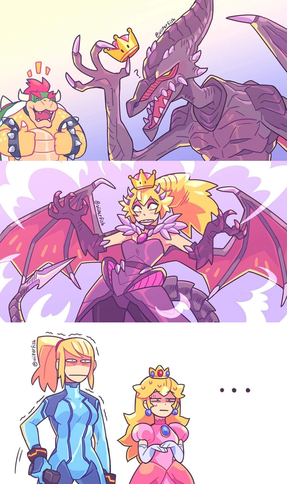 Bowsette Was Only The Beginning Behold The Super Crowns