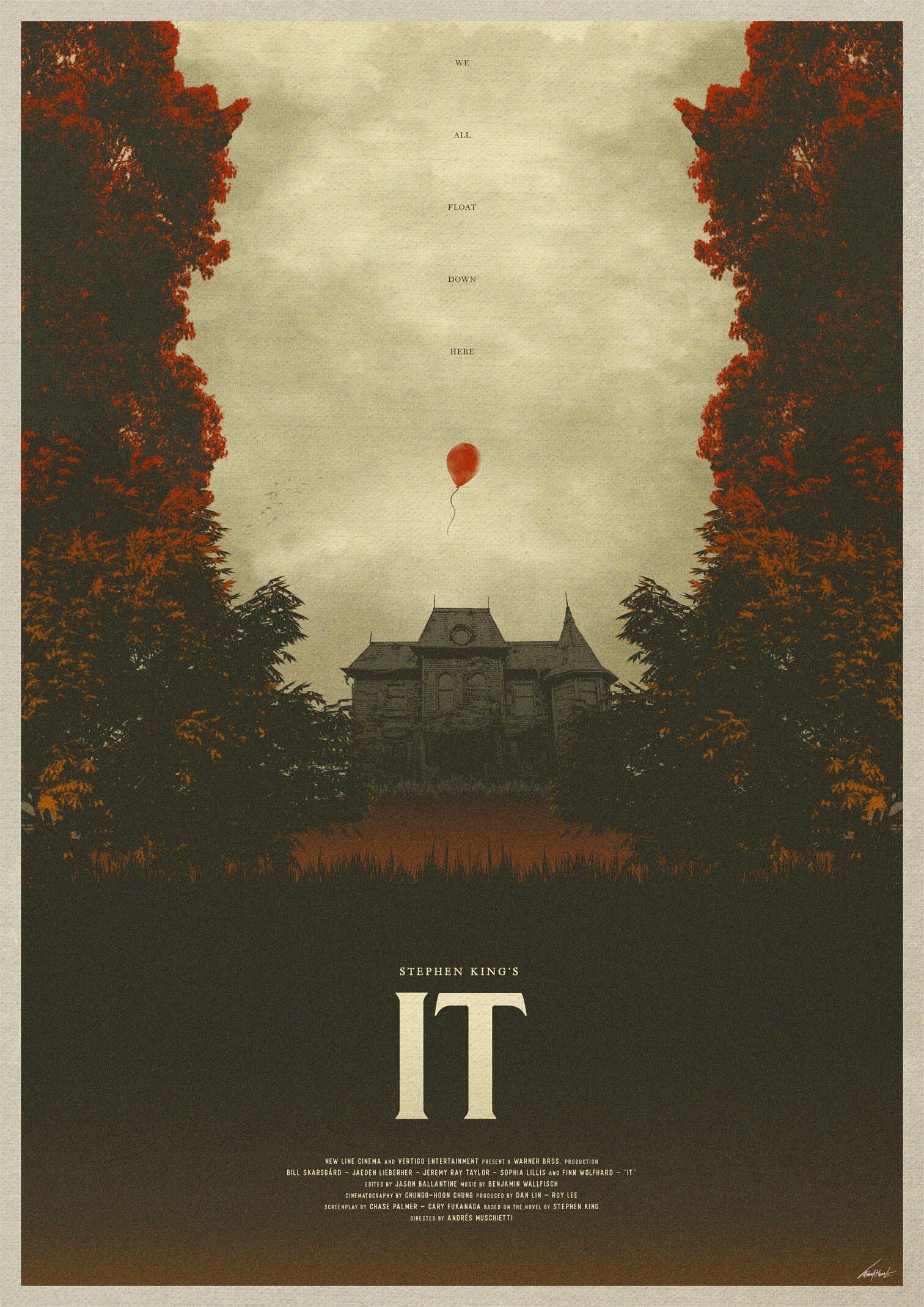 2017 Stephen King It Movie Poster