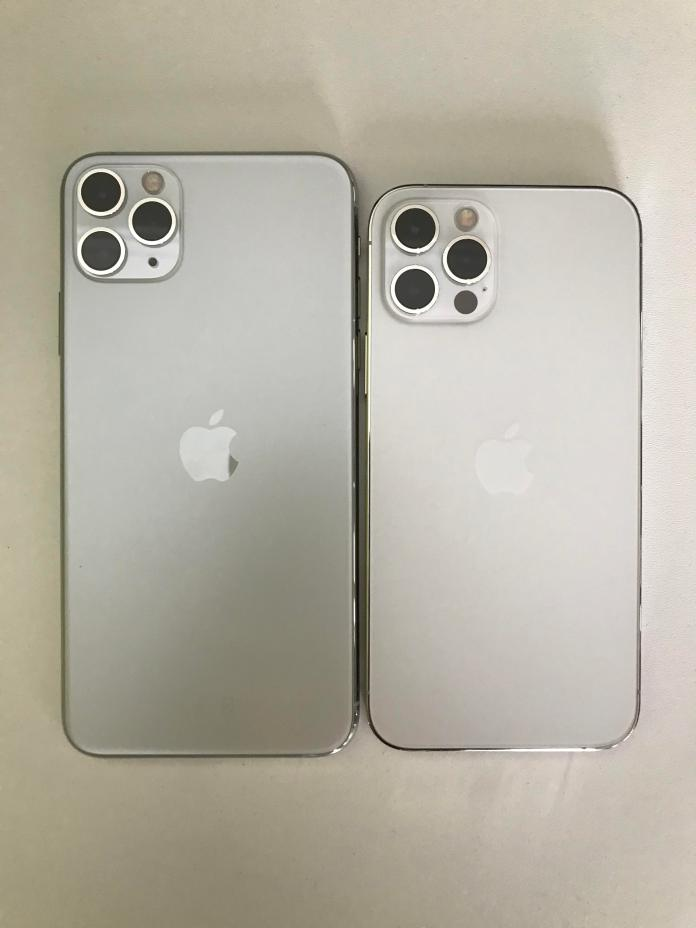 Iphone 11 Pro Max Silver Vs Iphone 12 Pro Silver Iphone