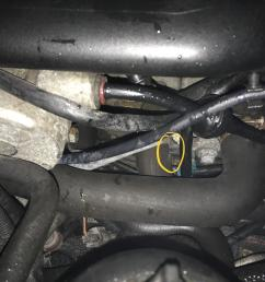 this hose sprayed liquid all over my engine bay is this a coolant saab parts diagram 2002 saab 9 3  [ 2100 x 1575 Pixel ]