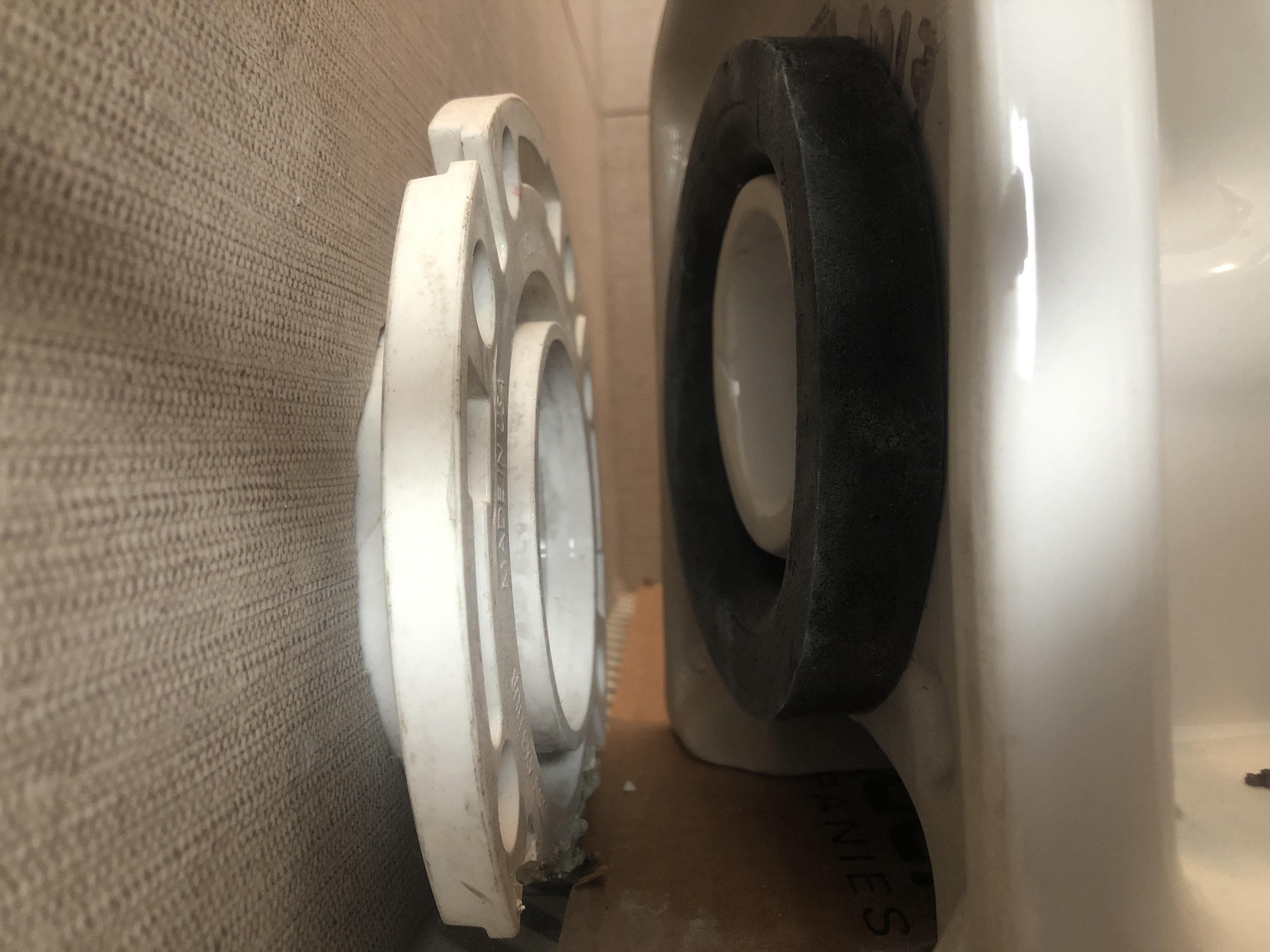 In Need Of 3inch Street Offset Flange Cant Find One Do They Exist Rear Outlet Toilet Sits Too High Contractor Raised Floor Too High Removing Tiles Is The Last Resort If Such