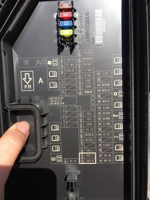 small resolution of solvedwhat do the little books with the i s stand for on my fuse box