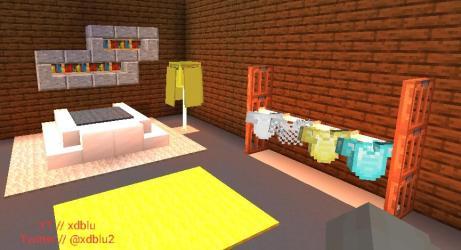Made a Minecraft modern bedroom design tutorial on my YT ! : DetailCraft
