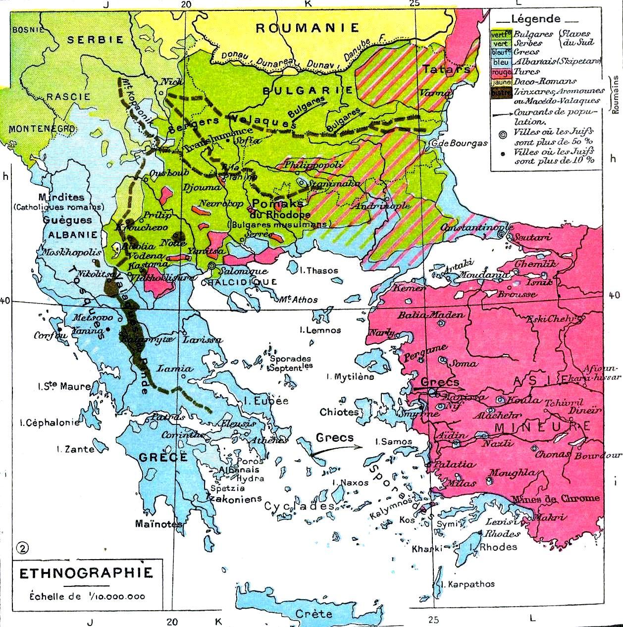 1914 Balkan Ethnicity Map Prior To Fyrom Bulgarians Becoming Descendants Of Alexander The Macedon Europe