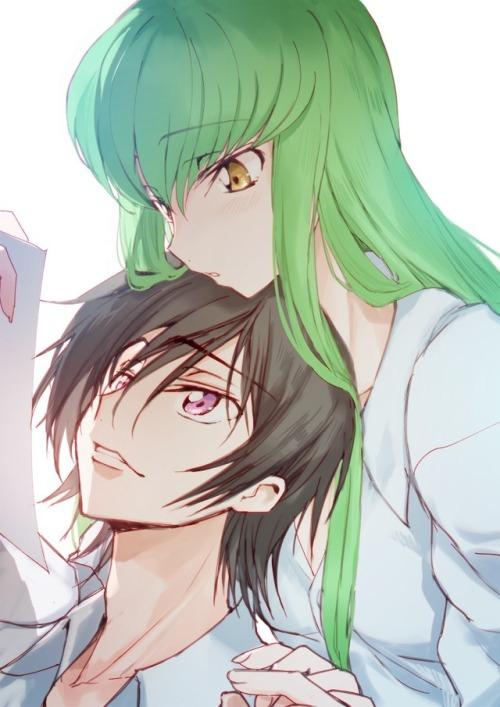 Wholesome Quote Wallpaper C C And Lelouch Codegeass