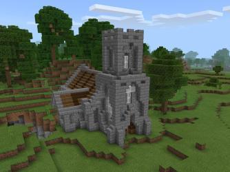 Medieval Church: Minecraft