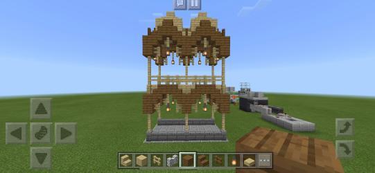 Updated Elven Town Wall : Minecraft