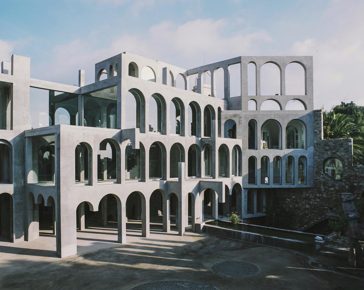The Home Of Catalan Artist Xavier Corber 243 Outside Of