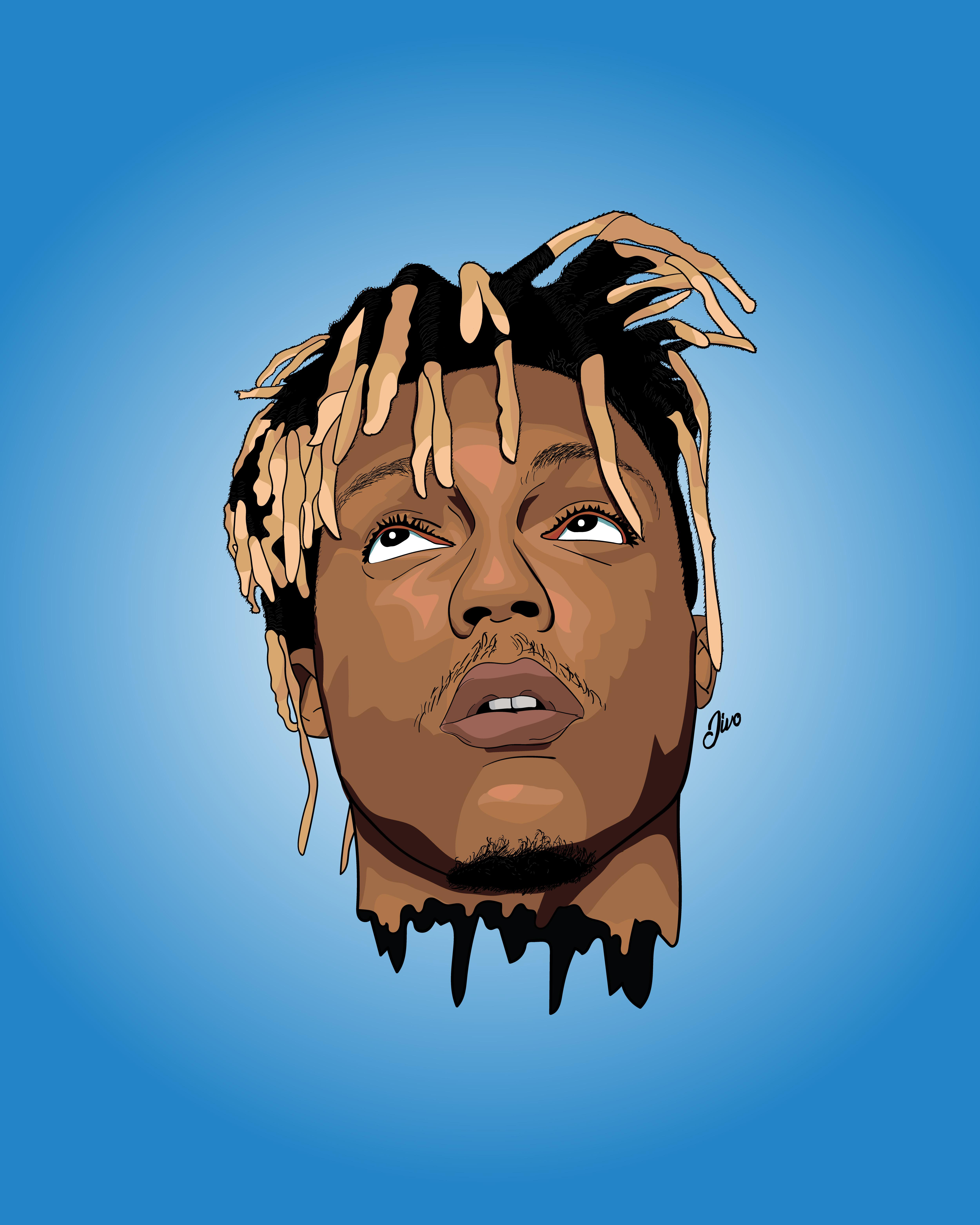 Juice Wrld Animated Pictures : juice, animated, pictures, Yesterday, Juice, Insta, Jivo_Designs, JuiceWRLD