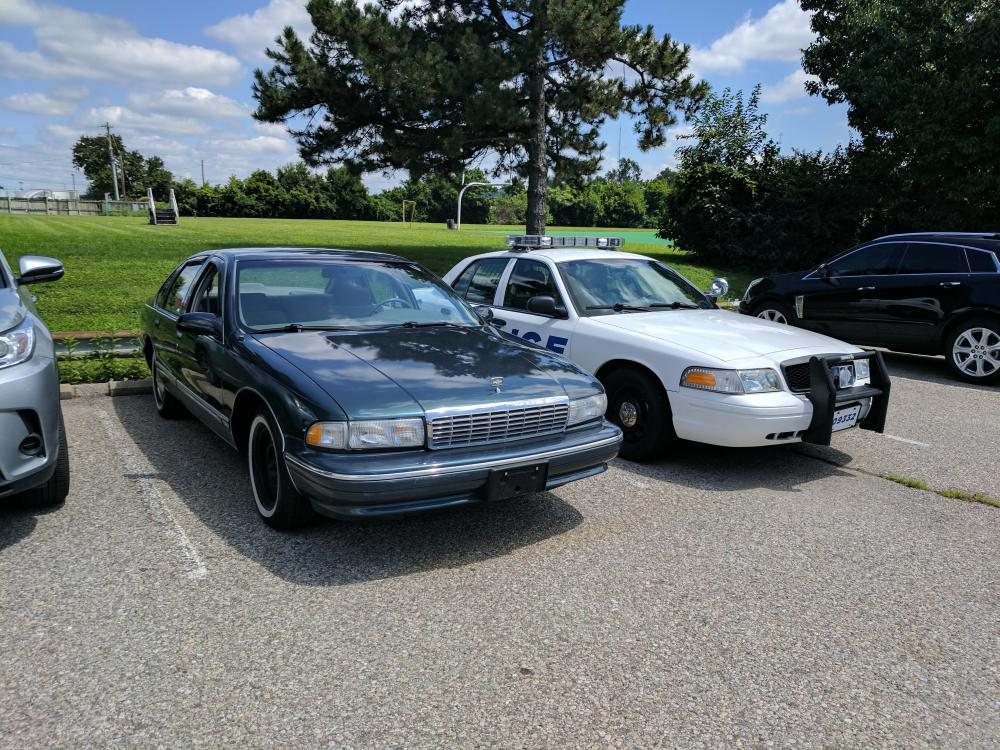 medium resolution of my new ride to me a 1995 chevrolet caprice classic with the lt1