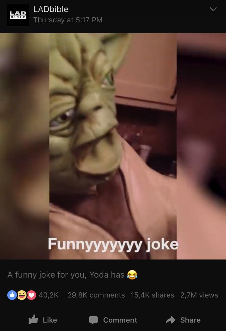 Game Grumps Funny Joke Yoda : grumps, funny, Stolen, LADbible, Gamegrumps