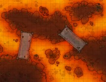 Bandits Lair Battle Map Cave Water Rpg In 2019 - Year of