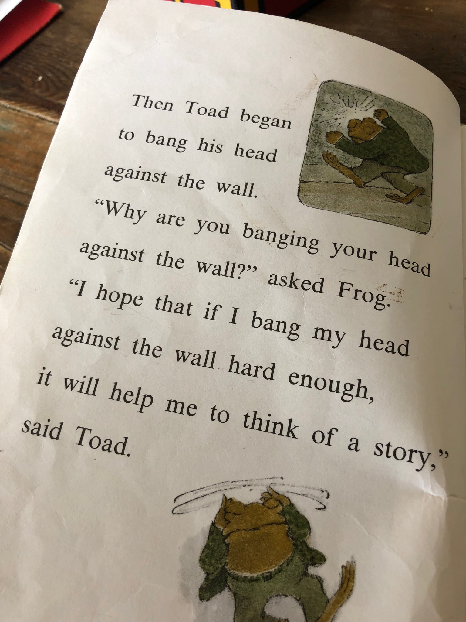 Frog And Toad About Writing Writing