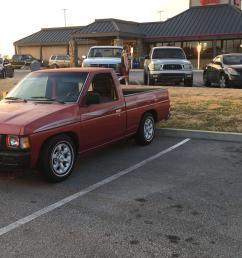 my 1996 nissan hardbody i m 18 still in high school and is my first car  [ 2208 x 1242 Pixel ]