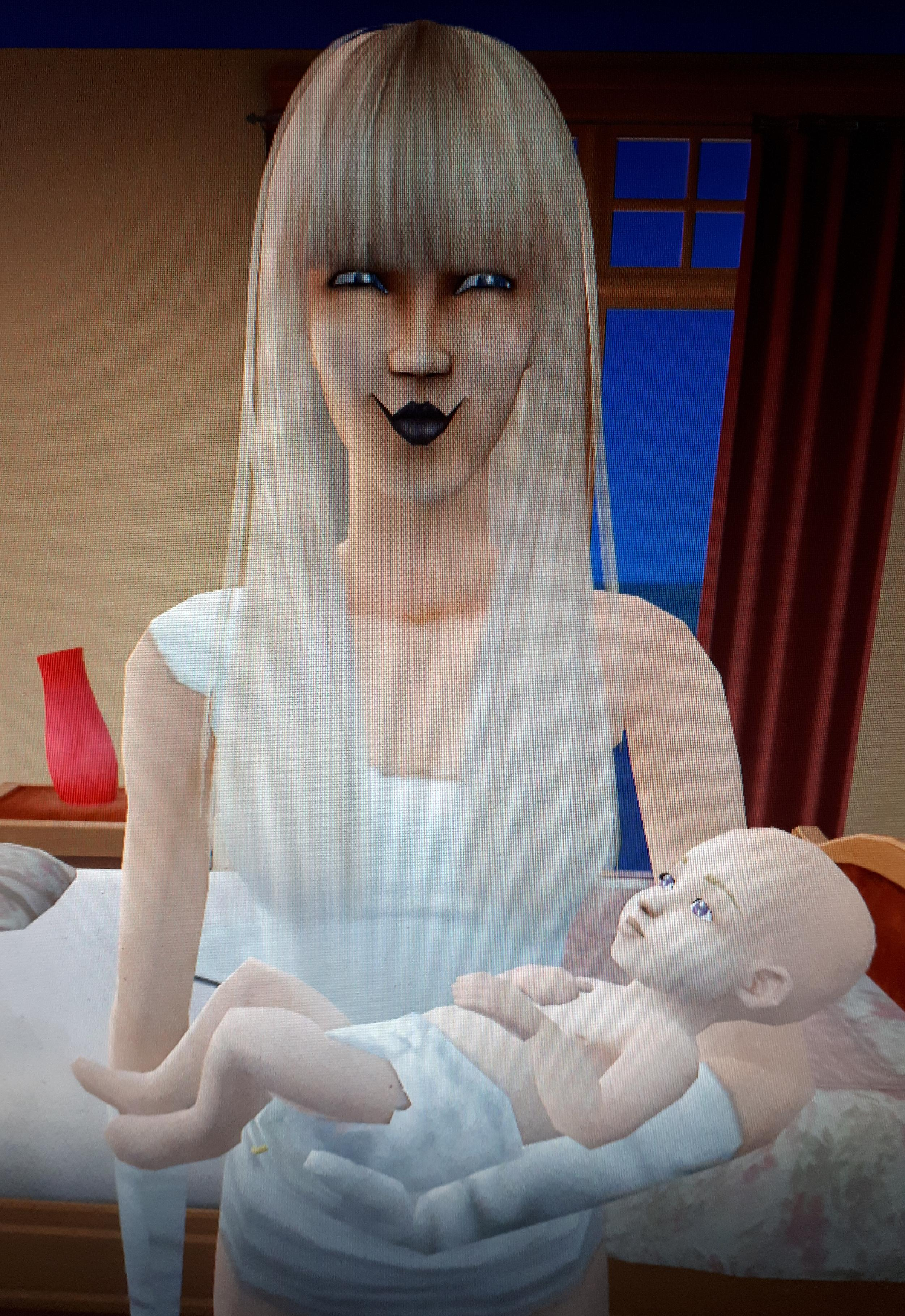 Sims 2 Eat My Baby : First, Think, She's, Pretty, Happy, About, Thesims