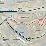 Labeled Track Map For West Coast Usa Motorsports Complex Beamng