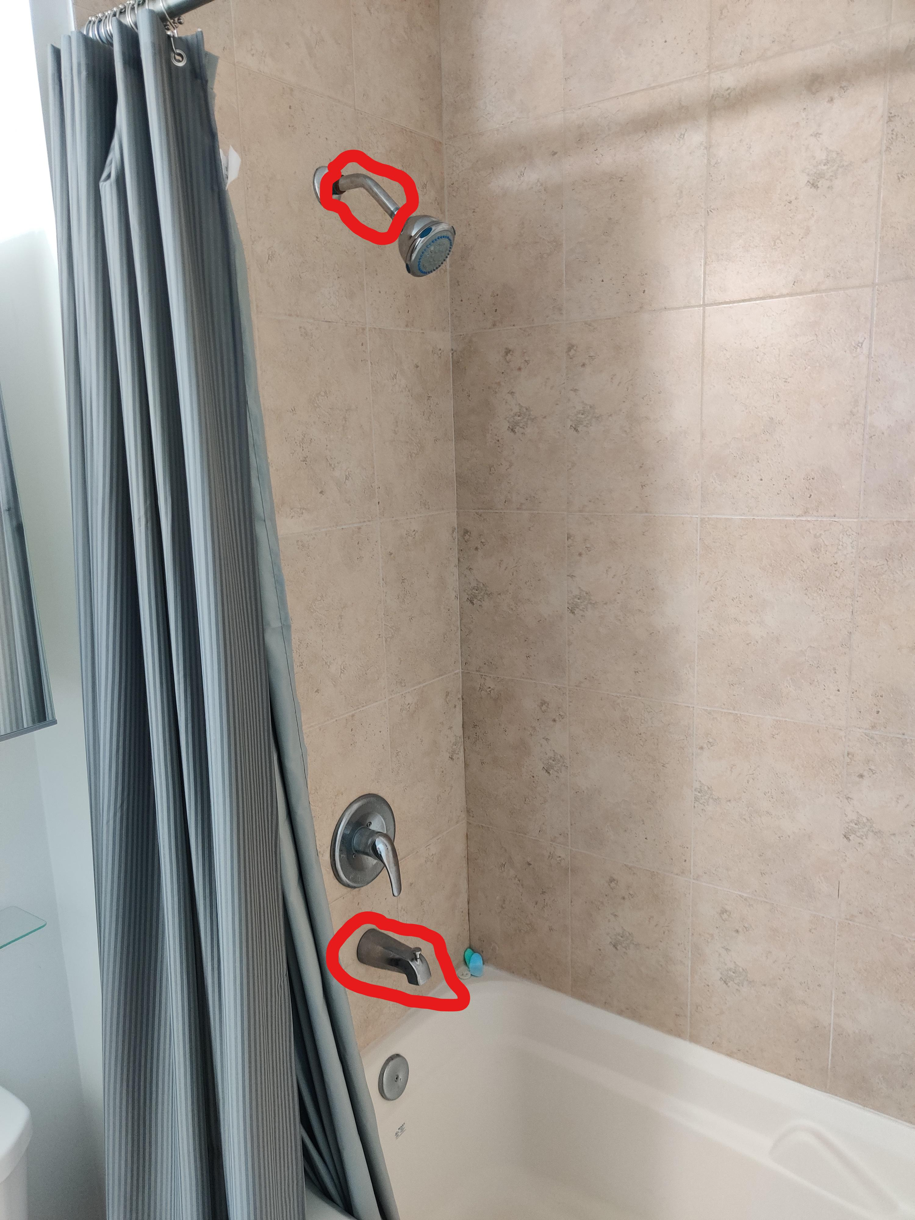 i want to replace the bathtub faucet