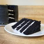 Black Velvet Cake And Italian Meringue Buttercream Frosting Just Enough For My Dnd Group Baking