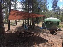 dispersed camping in pike national