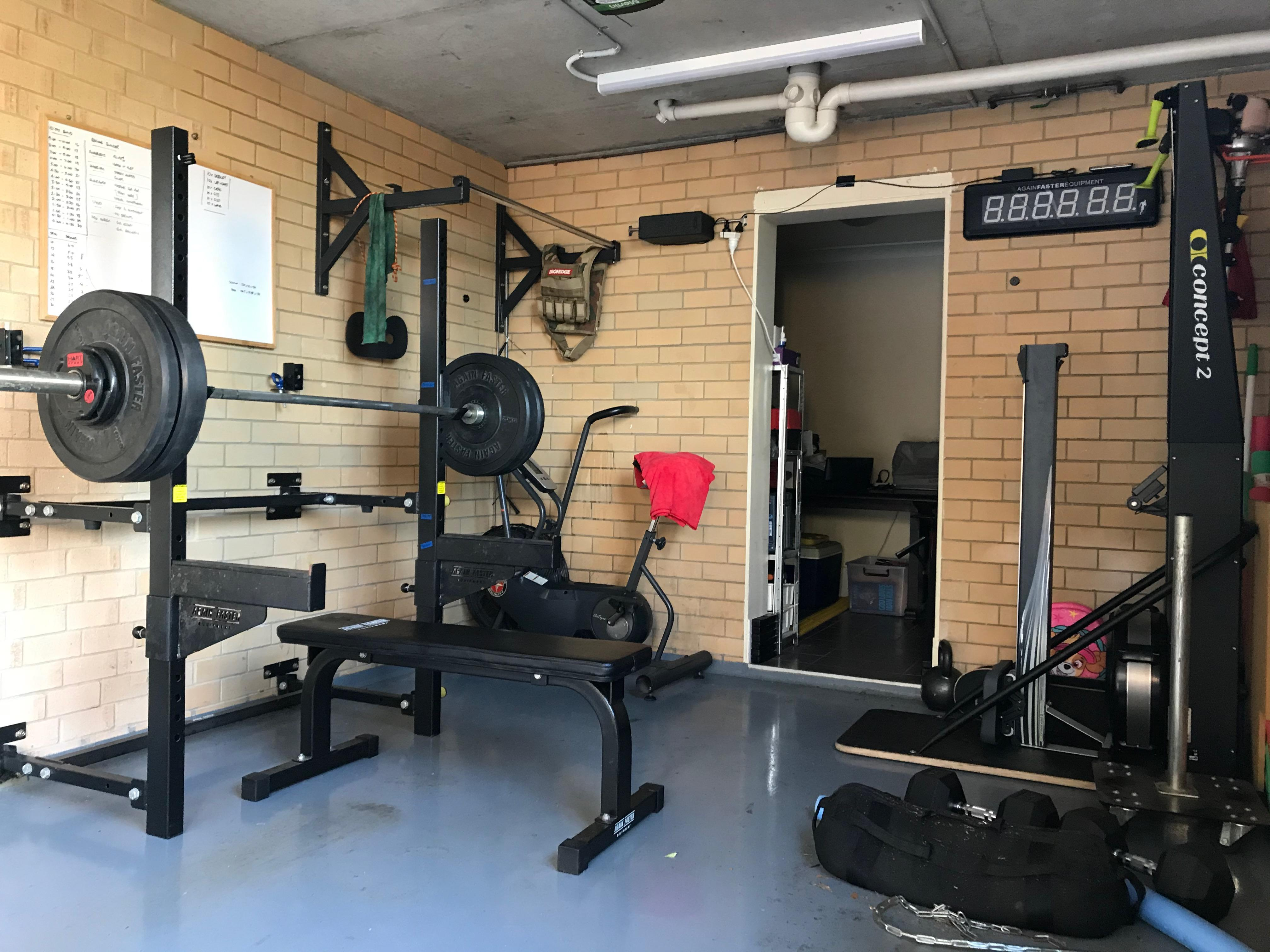 Like Other People S Garage Gyms Built Over Time Crossfit