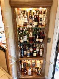 My corner whisky cabinet. : BarBattlestations