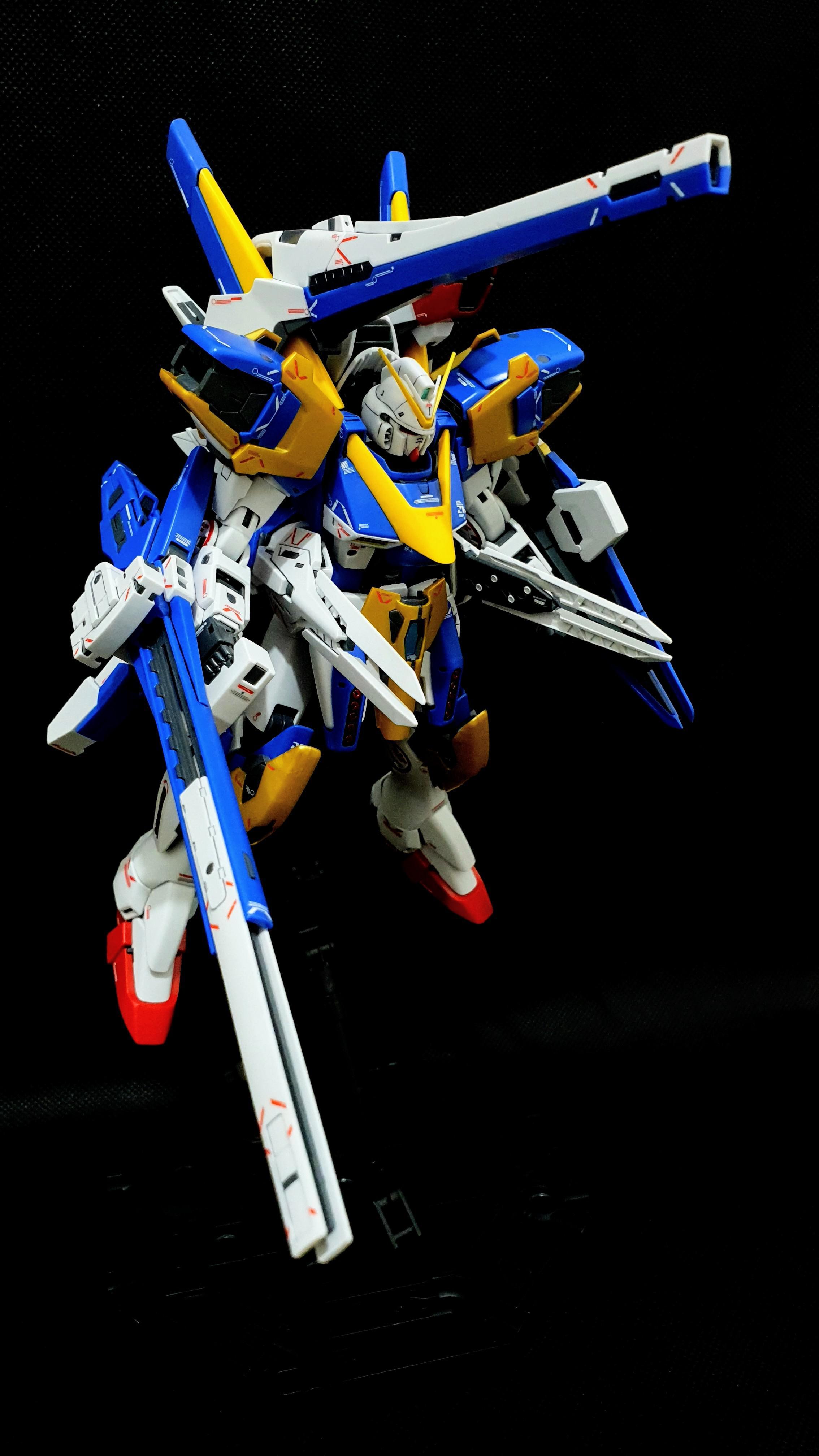 MG 1/100 V2 Assault Buster Gundam ver Ka : Gunpla