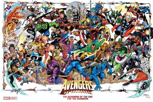 Image result for george perez avengers