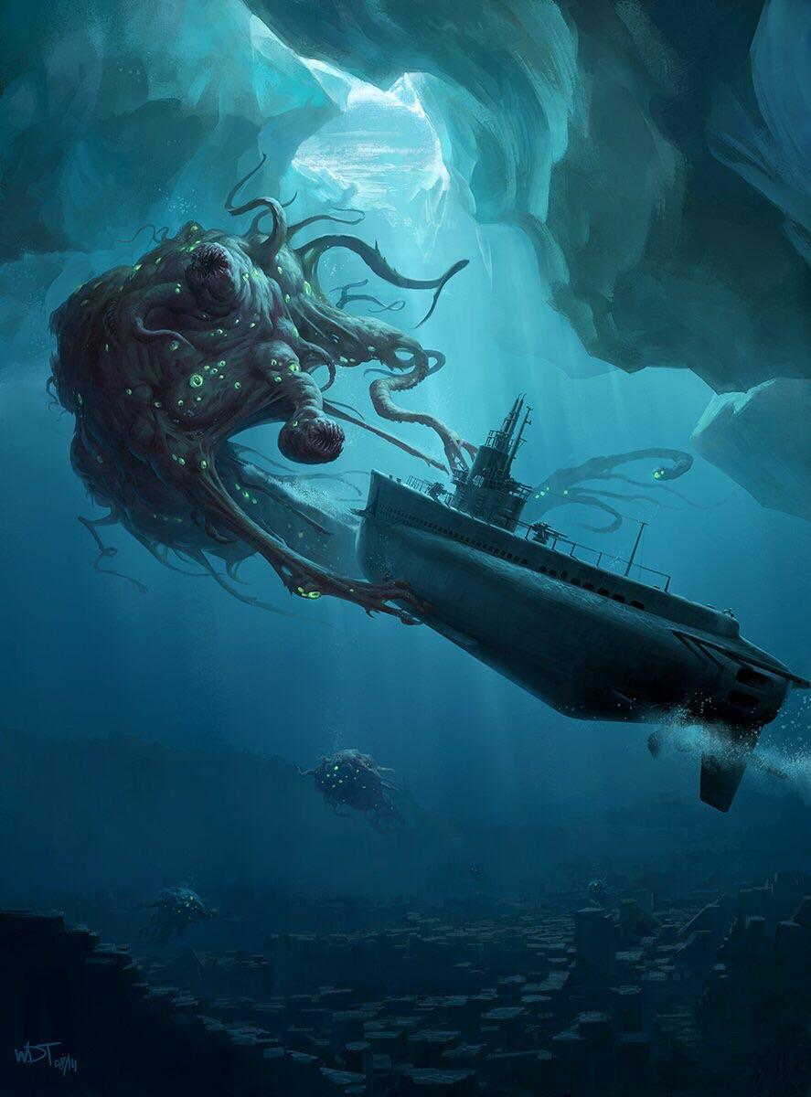 The Shoggoth Thalassophobia