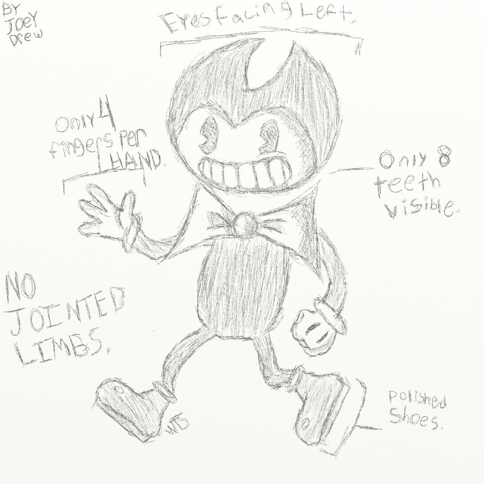 Joey's Drawing Guidelines. : BendyAndTheInkMachine
