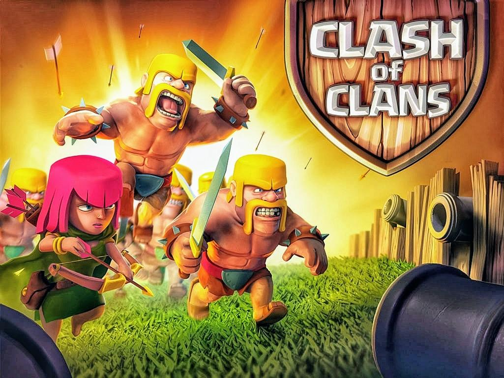 Artart Clash Of Clans Loading Screen When It Was Released On  For Ios First Loading Screen Art Made By Supercell Team For Clash Of Clans