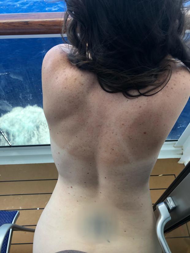 jk4pppds3yt11 - A little cruise balcony [f]un with hubs. 😘 Nude Selfie