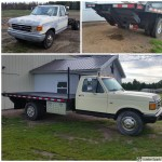 87 Ford F350 Flatbed I Rebuilt New Deck And Lift 351 Cleveland With Posi Rear End Trucks