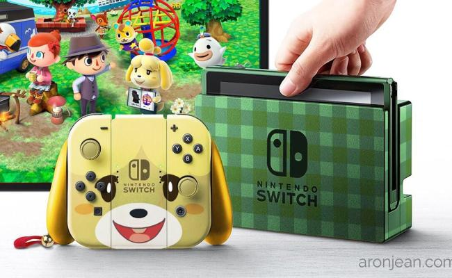 Fan Art Nintendo Switch Animal Crossing Bundle Updated