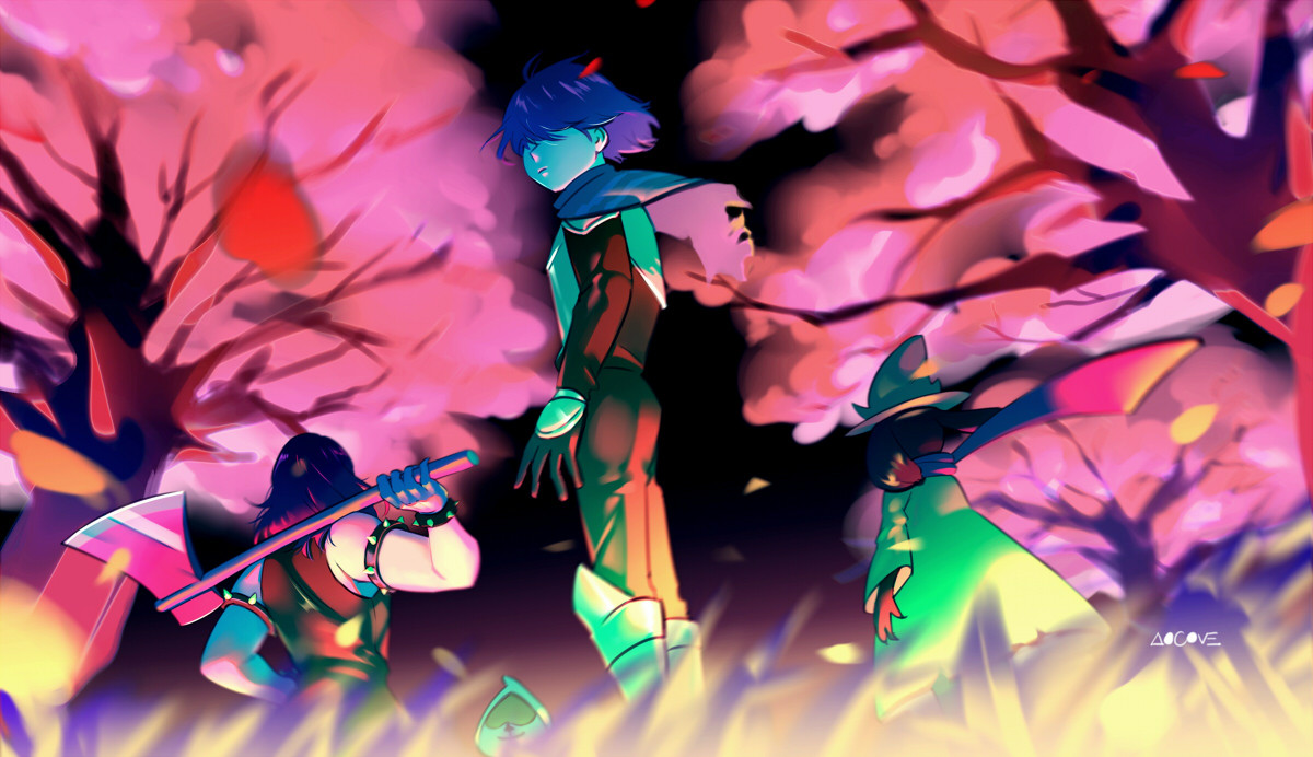 Field of Hopes and Dreams by aocove : Deltarune