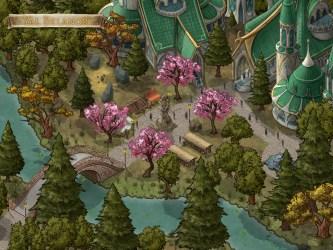 Here s an Elven City : inkarnate