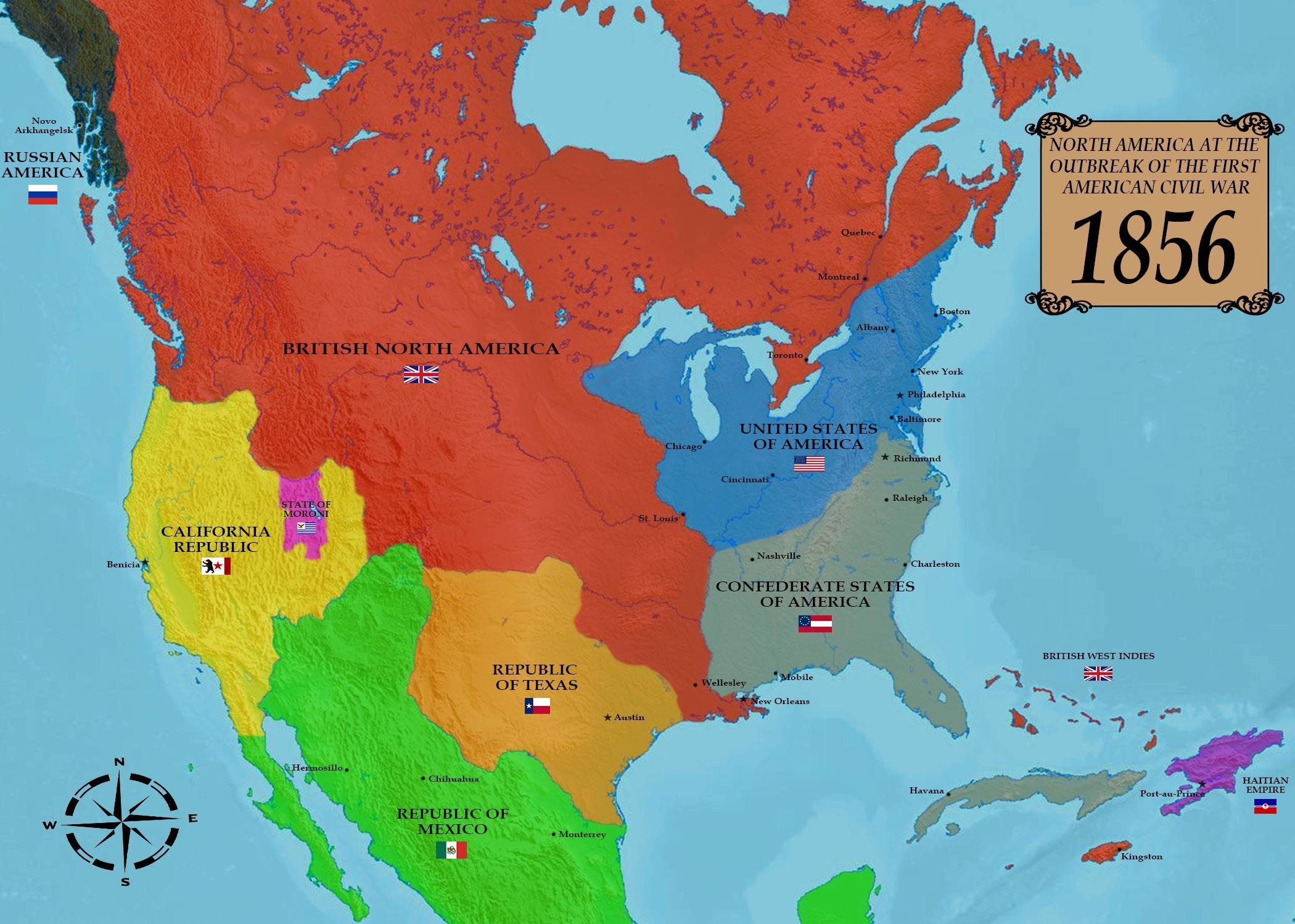 Alternate Civil War Where Britain Wins The War Of