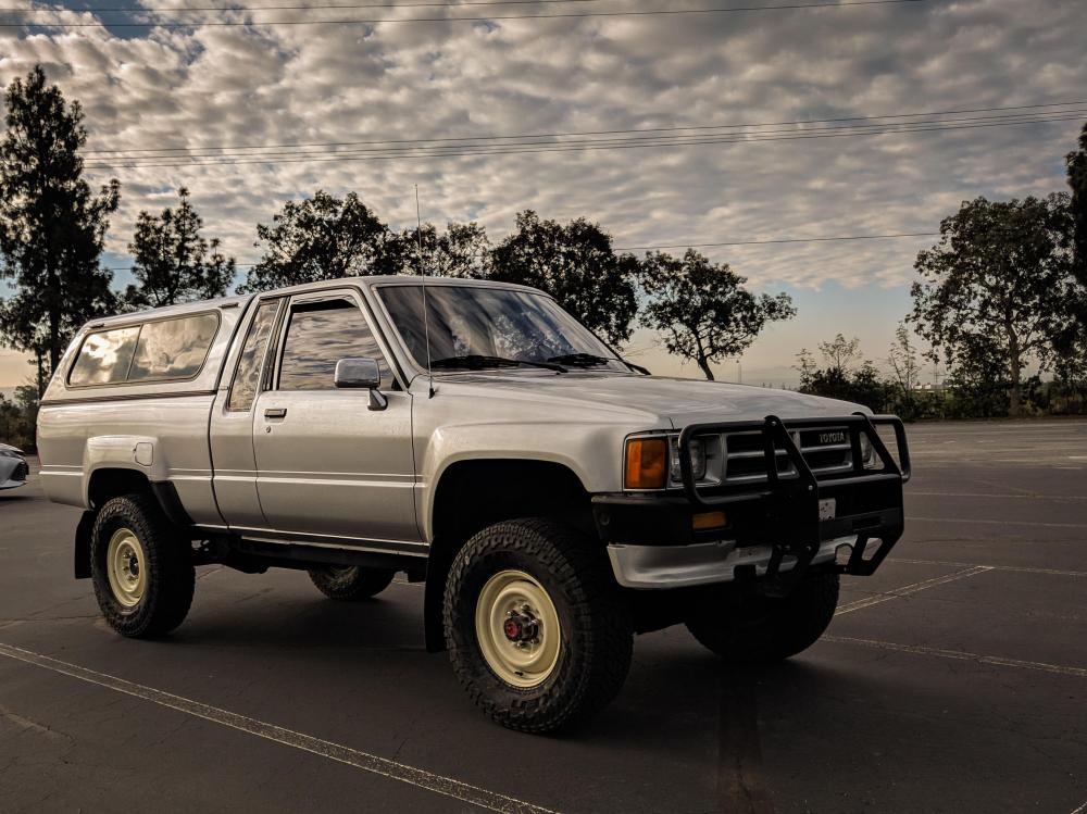 medium resolution of my 1987 toyota truck working on getting a 3rd gen tacoma
