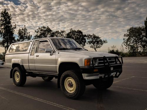 small resolution of my 1987 toyota truck working on getting a 3rd gen tacoma