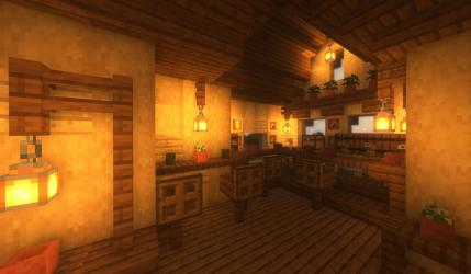 I made a bar in my fantasy medieval minecraft kingdom!! I have the tutorial on how I build the house and did the interior!! It s my FIRST ever minecraft tutorial! I m kind