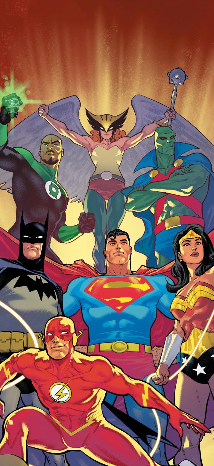 Justice League wallpaper (Justice League Infinity #1) [1888×4096]