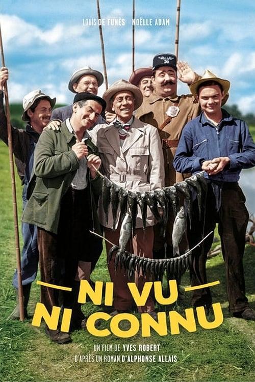 Ni Vu, Ni Connu : connu, Shapiro, Poster, Connu',, French, Movie, 1958., ToiletPaperUSA