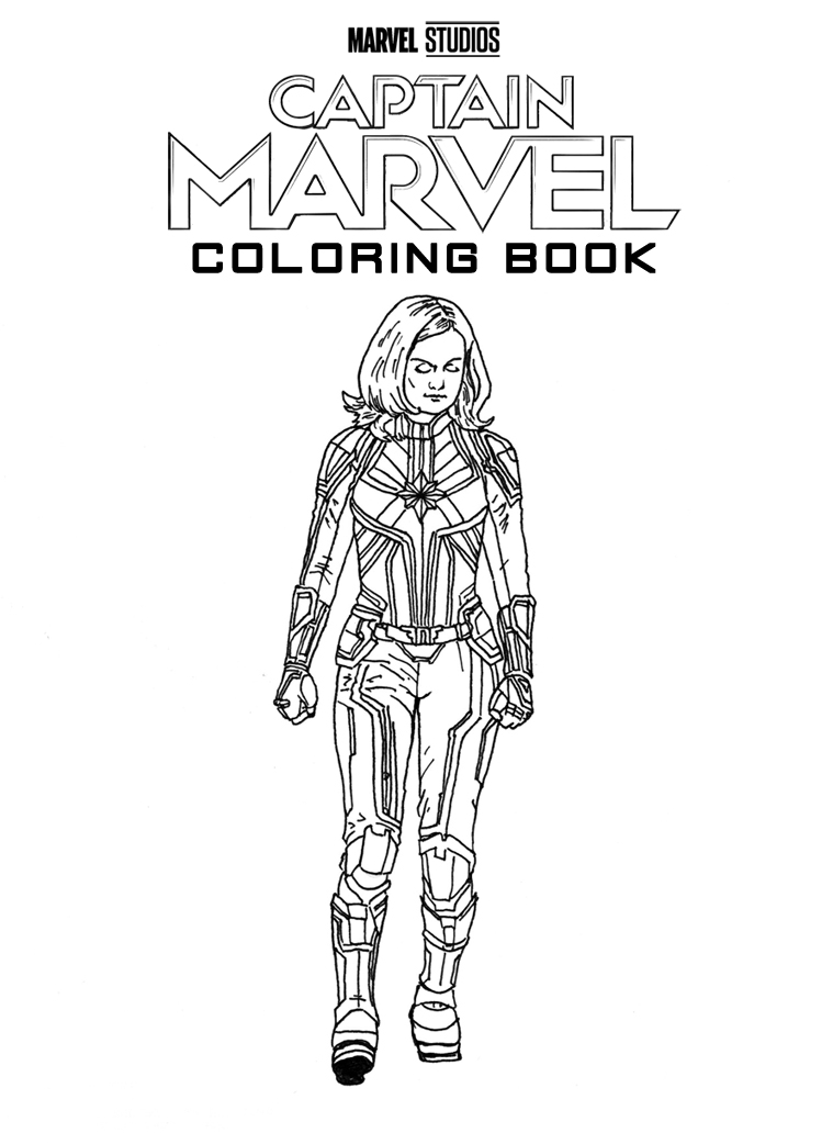 HEY KIDS!! Now you, too, can color your very own Captain