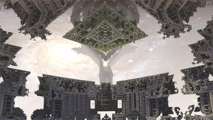 Angkor Wat in space 2 [2560×1440]