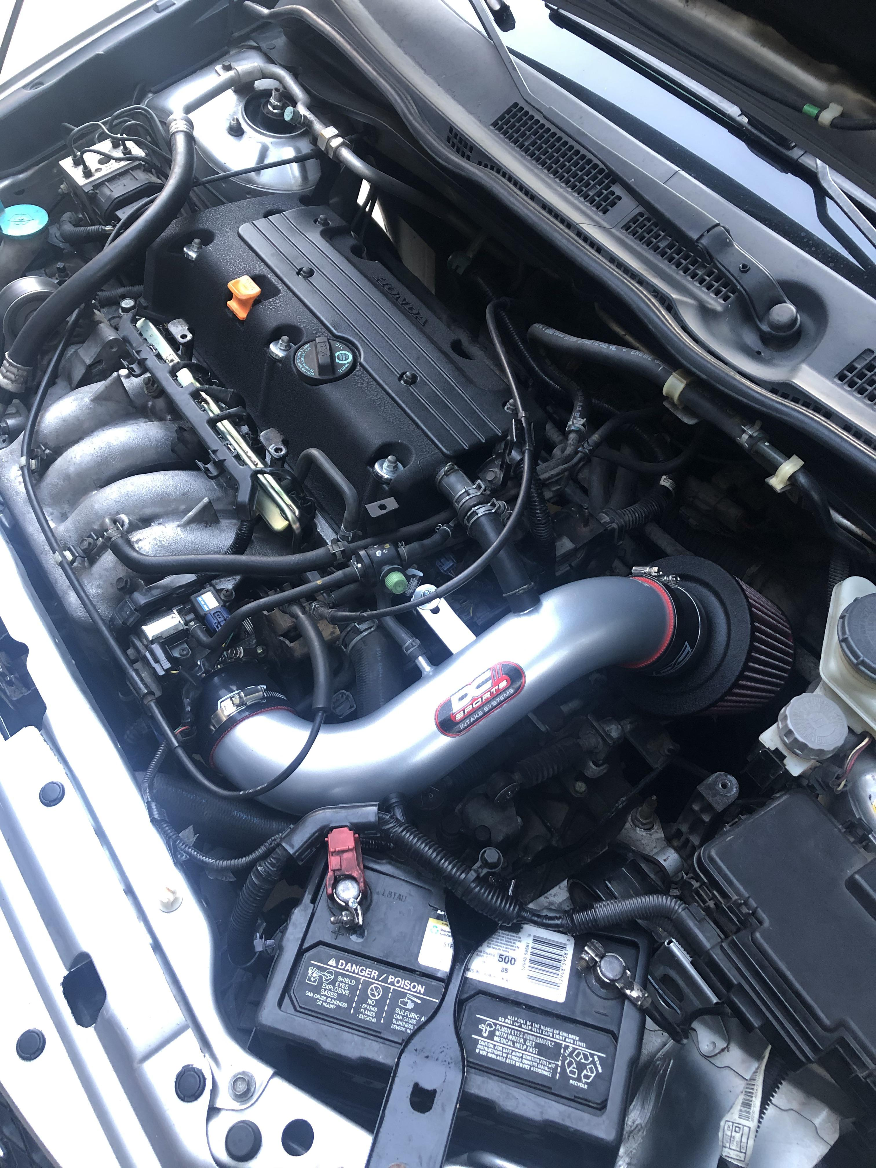 Ep3 Engine Bay : engine, Installed, Intake, Look.
