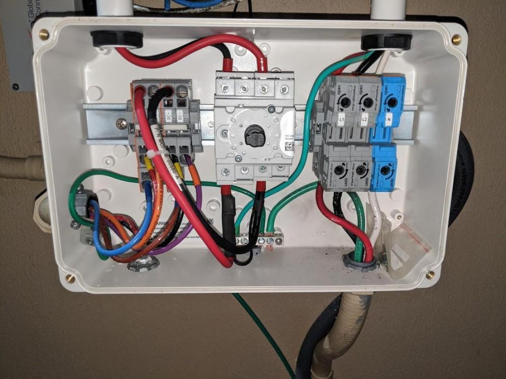 medium resolution of inverter ac wires inverter disconnect box