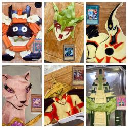 OC] A few Yu Gi Oh food Monsters I made! : yugioh